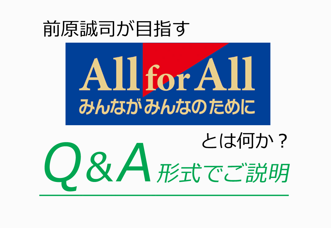 "Q&A""All for All""とは"